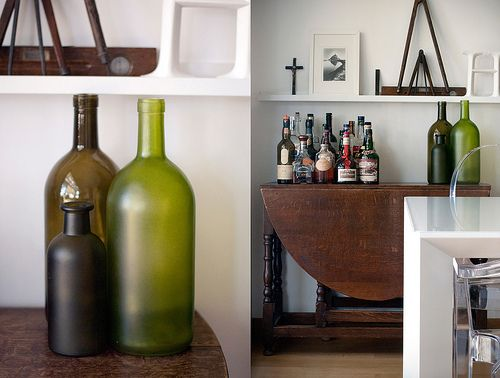 living room diptych {my pics}