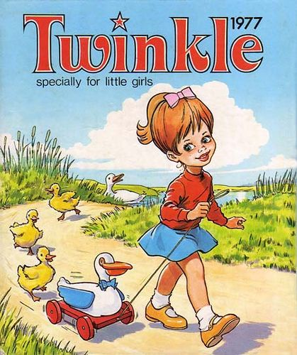 Twinkle - My mum had this book, then it was handed to me and it's lost! Would love to be able to replace - any ideas welcomed!