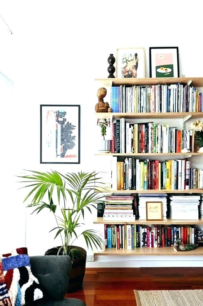 Upsize A Small Living Room With Bookcase With Images