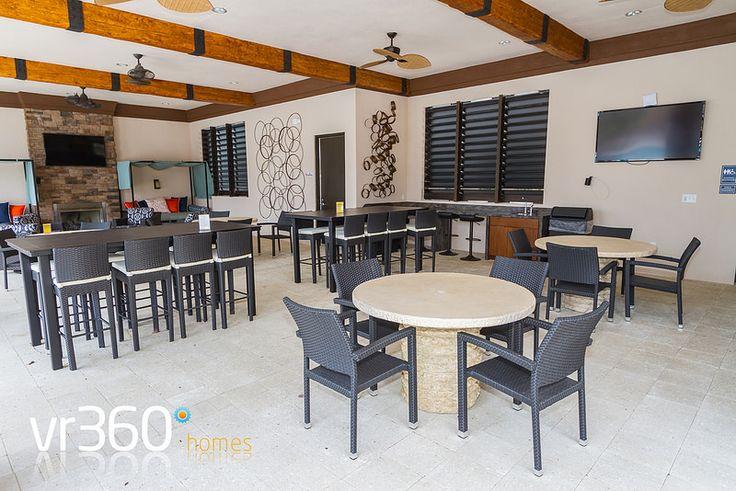 Solterra Resort, Davenport, Florida - Clubhouse Outdoor Pool Lounge Area. http://www.vr360homes.com/north-america/florida/disney-orlando-villas/solterra-resort/