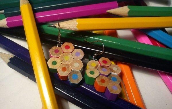 Come riciclare le matite colorate con fantasia e creatività
