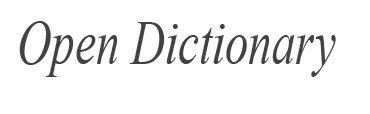 Open Dictionary (Macmillan) - Informal #dictionary #dicionario #informal #link