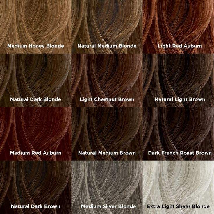 Chi Hair Color Chart Red Brown Blonde Formulas In 2020 Chi Hair Color Hair Color Chi Hair Products