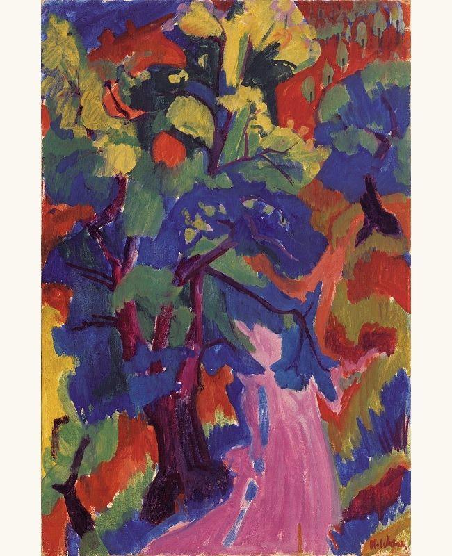 Forest Path, c. 1925-26,  Hermann Scherer, (1893–1927)