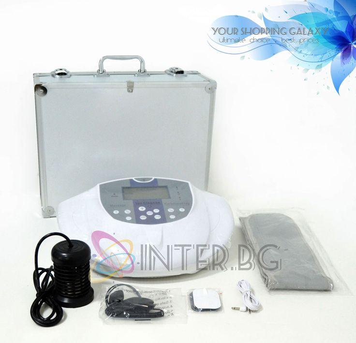 Спа Детоксикатор В01 - Козметичен уред за детоксикация Спа Детоксикатор В01 - Козметичен уред за детоксикация  Практичен и удобен за употреба детоксикатор, предлагащ -5 режима на работа при детоксикация -1 режим на работа при физиотерапия – осъществява се чрез електродни лепенки, излъчващи електроимпулси Детоксикатор В01 е лесен и удобен за употреба. Разполага с LCD дисплей и функционално работно табло за настройка на режим и време на работа. Уредът е оборудван с много екстри и аксесоари.