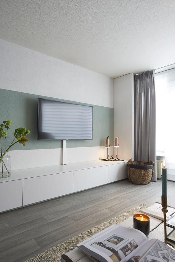 25 beste idee n over woonkamer verf op pinterest muurverf kleuren slaapkamer verf kleuren en - Kleur verf moderne woonkamer ...