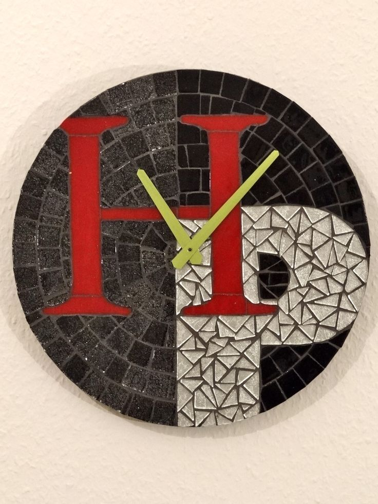 1000 Images About Mosaic Clocks On Pinterest