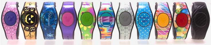 MagicBands provide a wonderful combination of services at Walt Disney World. They can become our room keys, park tickets, credit cards, and links to FastPass+ and PhotoPass services. We receive them free-of-charge when staying at a Walt Disney World Resort, or we can purchase them at Disney retail o