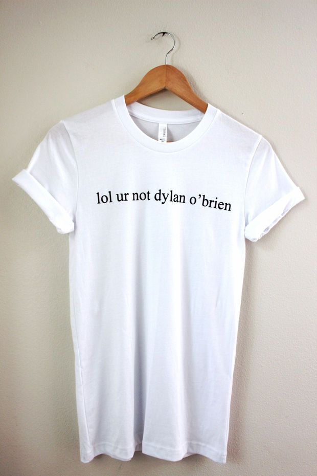 lol ur not dylan o'brien Graphic Unisex Tee