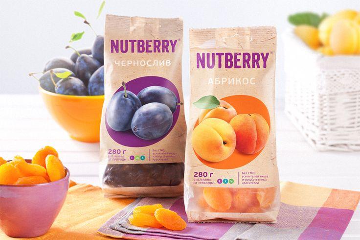 NUTBERRY: Дизайн этикетки, Фотосъемка, Нейминг, Разработка логотипа, Товарный брендинг, Фирменный стиль, Дизайн упаковки и дизайн этикетки
