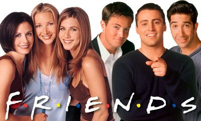 Courtney Cox, Lisa Kudrow, Jennifer Aniston, Matthew Perry, Matt LeBlanc, David Schwimmer