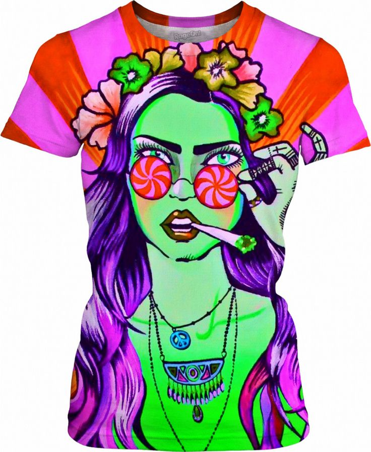 Hippie chick! https://www.rageon.com/products/hippie-chick-psychedelic-festival-t-shirt?aff=Hy53 on RageOn!