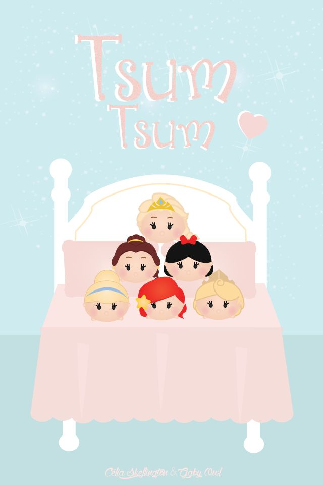 Tsum Princesses Cute Disney Wallpapers For Your
