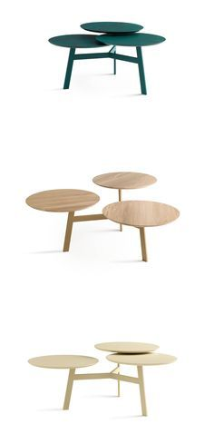 Side Table Ninfea by Leolux offers countless colourful choices and is extremely flexible as well.