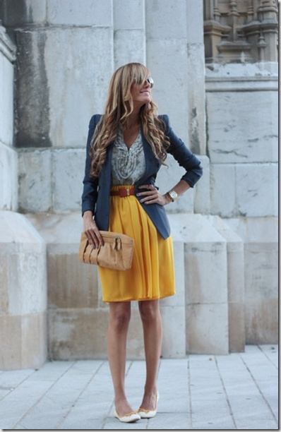 Top 25 ideas about How to use A-line skirts on Pinterest | Mustard ...