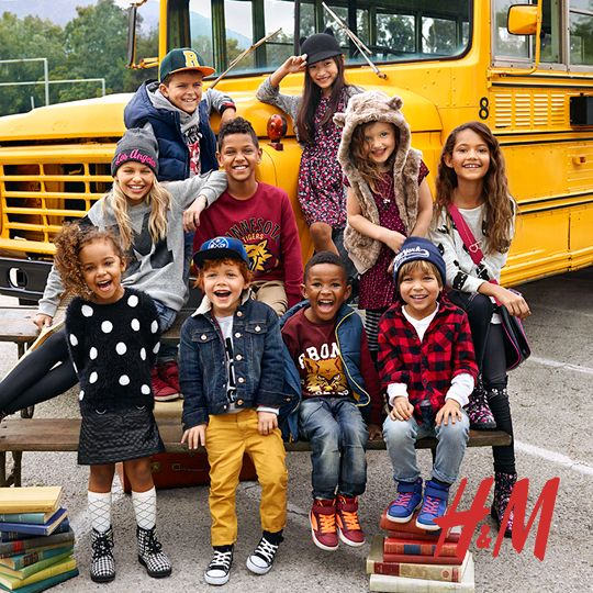 Go Back to School in style with H&M. WIN a $150 GC from MyBabyStuff now!