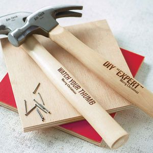 Personalised Hammer - home accessories