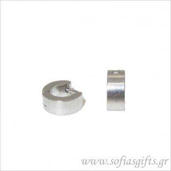 Ανδρικό σκουλαρίκι κρίκος ασημί μικρός #ανδρικά #σκουλαρικια #andrika #skoularikia #kosmhmata #κοσμηματα