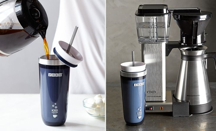 The Zoku Iced Coffee Maker Delivers Iced Coffee In Minutes