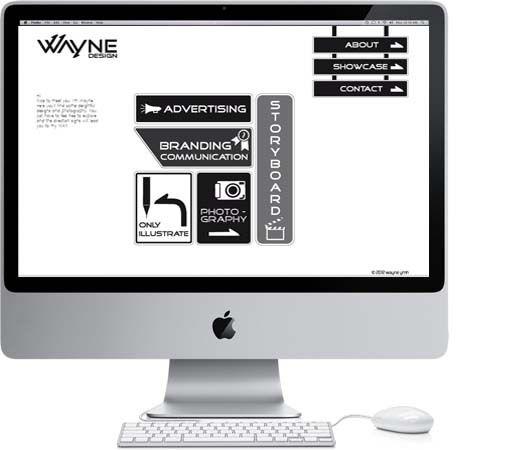 WAYne DESIGN SELF - PROMOTE MATERIALS by Wayne y.m.h., via Behance