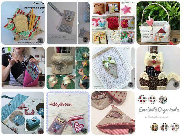 Una selezione di idee con Tutorial per regali fai da te per la Festa della Mamma.