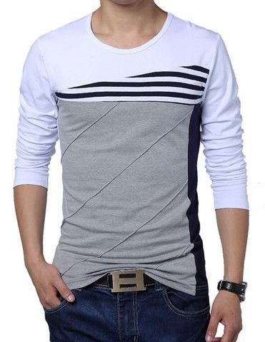 "The ""Tanner"" Striped Long Sleeve Shirt"
