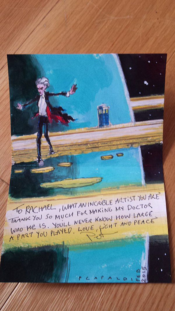 Here's What It Looks Like When the Twelfth Doctor Draws the Twelfth Doctor