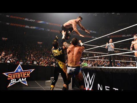 WWE Network: Neville & Stephen Amell vs. Stardust & King Barrett…
