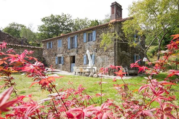 Aldea De Loureiro, Mazaricos, Provinz A Coruña, Galicien, Spanien