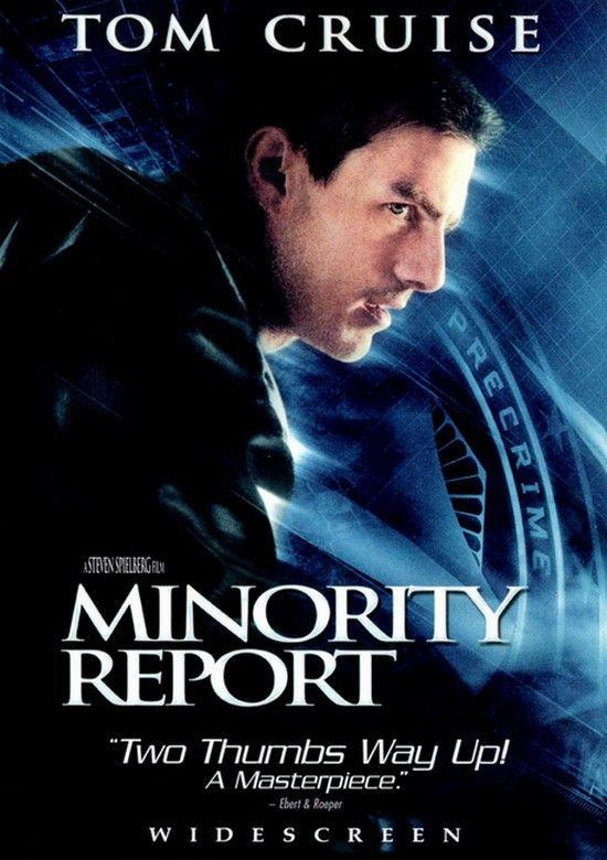 Spielberg está trabajando en Minority Report para TV y ya cuenta con la ayuda del escritor de la última película de Godzilla, Max Borenstein.