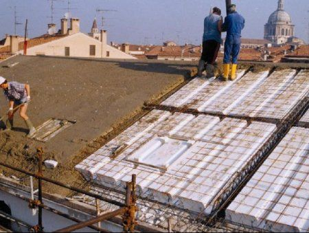 Green roof and green building summary insulated concrete for Icf concrete roof