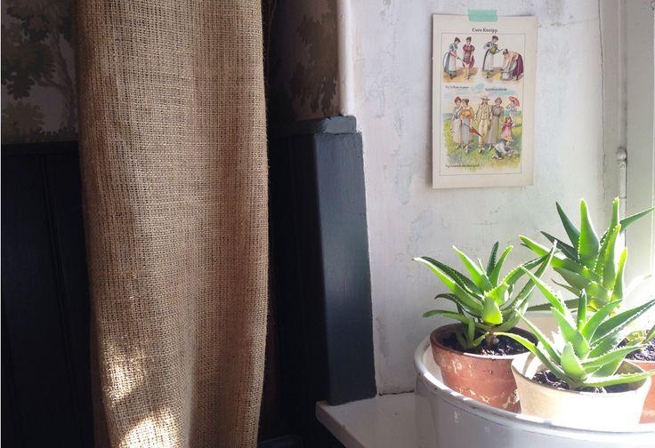 les 25 meilleures id es concernant rideaux en toile de jute sur pinterest rideaux de cuisine. Black Bedroom Furniture Sets. Home Design Ideas