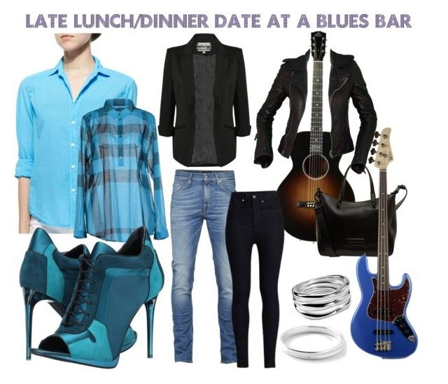 """Late Lunch/Dinner at a Blues Bar"" by kelvineugeneharris on Polyvore"