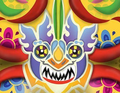"Check out new work on my @Behance portfolio: ""Mascara - Diablada"" http://on.be.net/1IGrptK"