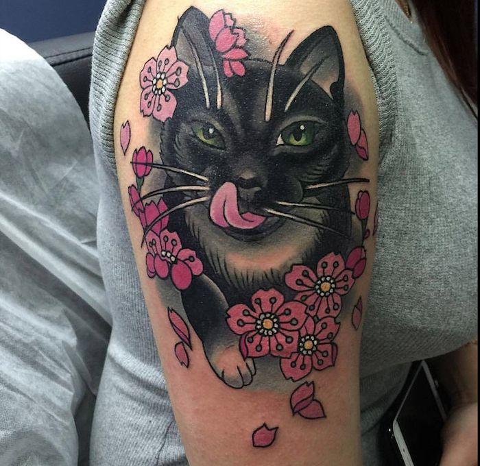 Значение татуировки кот