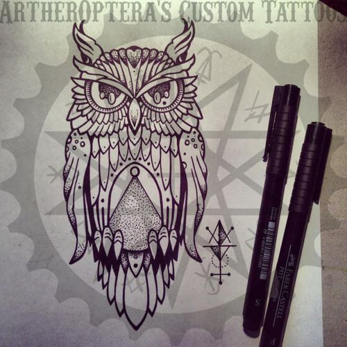 illuminati owl drawing - photo #21