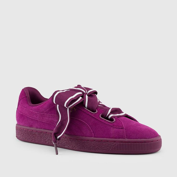 Puma - Women's Suede Heart II 'Satin' (Dark Purple | Dark Purple)