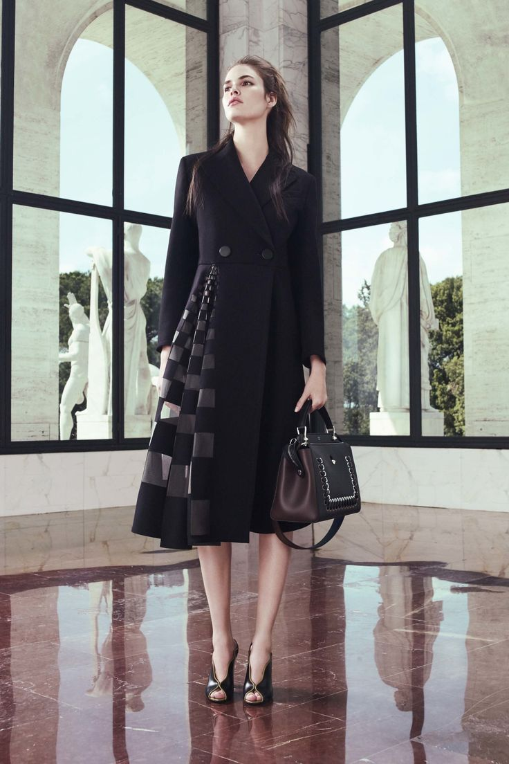 Fendi Resort 2017 fashion show - Pre-Spring-Summer 2017 collection, shown 26th May 2016