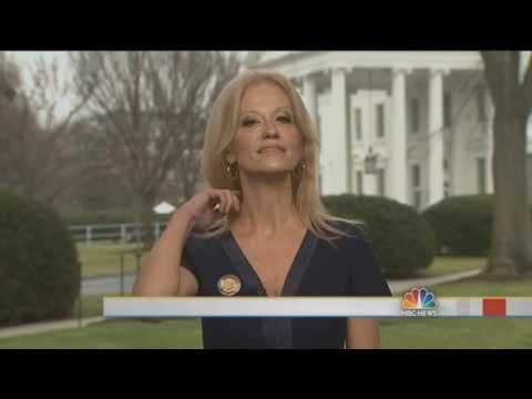 """He is straight clowning her crypt keeper looking ass! Lol!  CNN's Anderson Cooper Can't Stop Laughing Reacting to Kellyanne Conway's """"Alternative Facts"""" - YouTube"""