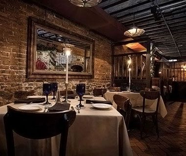 Bistro Romano is one of America's Most Romantic Restaurants