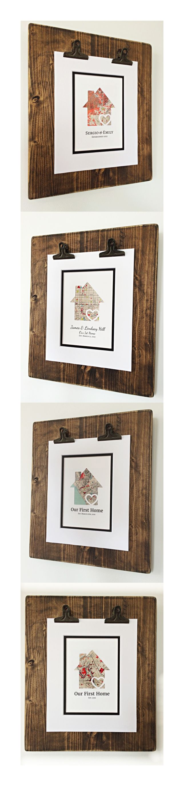 Home interiors and gifts framed art - Our First Home Housewarming Gift Or Realtor Closing Gifts For A Client