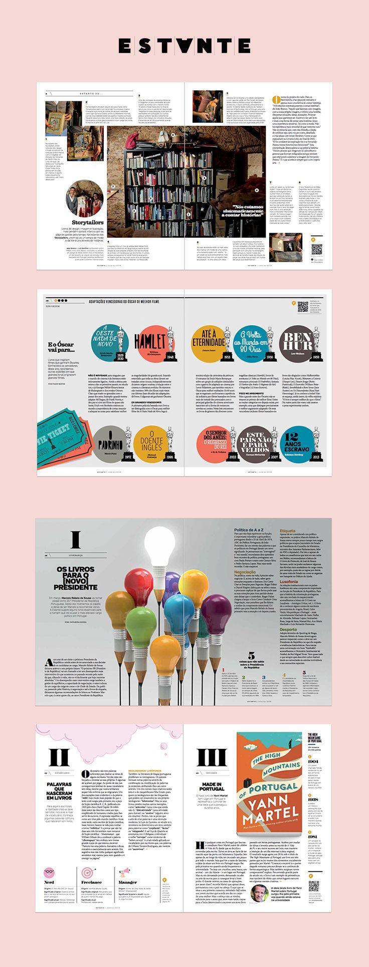 Revista Estante nº 8 da Fnac. Uma edição Adagietto - http://www.adagietto.pt #revistaestante