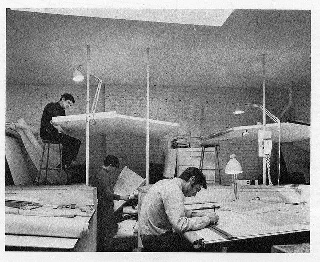 Paul Rudolph's architectural office