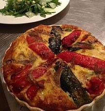 Omelet uit de oven- Van een paar eieren en wat restjes groenten kun je een heerlijke maaltijd maken