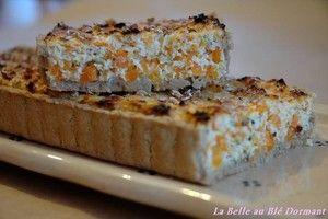 Tarte à la carotte et aux flocons de sarrasin | by bledormant.canalblog.com
