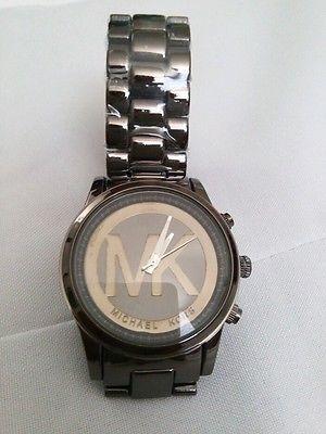 Michael kors fashion reloj negro de mujer 2015