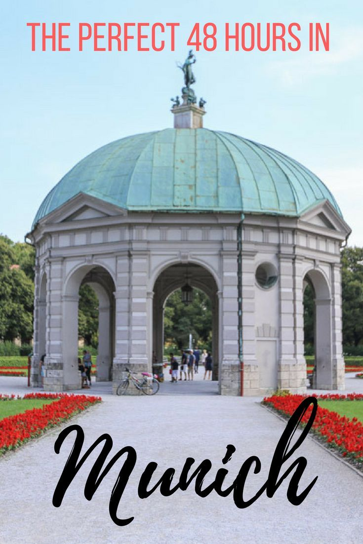The Perfect 48 Hours in Munich. A weekend is the perfect amount of time to get a taste of Munich by discovering the hearty and delicious Bavarian cuisine, drinking all the beer, wandering beautiful parks and gardens, and delving into Munich's fascinating history. Find out where we ate, where we stayed and what we got up to in 48 hours in Munich. | Camels and Chocolate