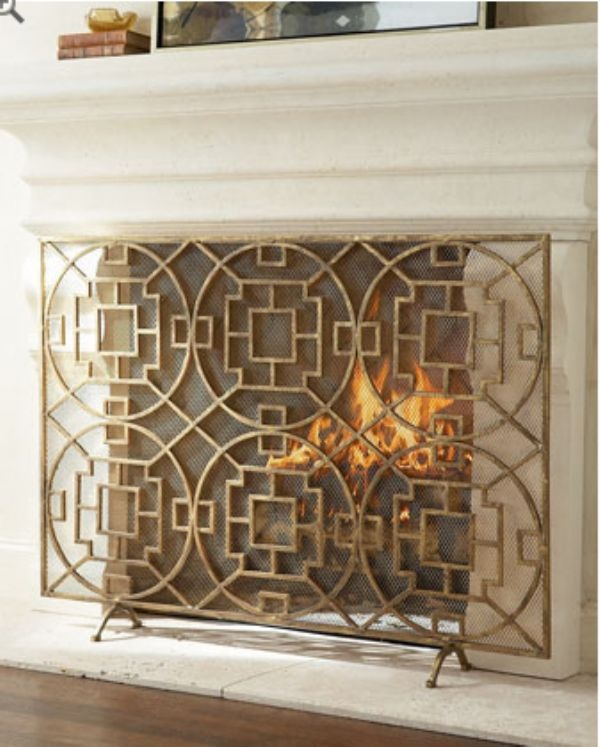 67 best fireplace screens covers images on pinterest living