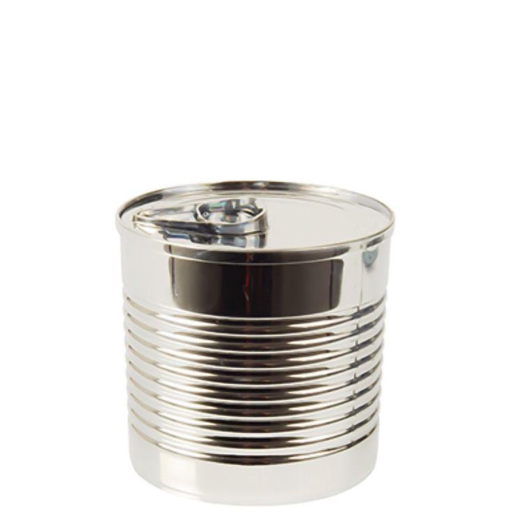 Bägare Fingerfood i silverfärgad plast 12-pack Papstar - Dryckesglas.se