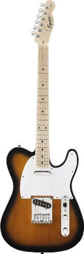 Fender Squier® Affinity Telecaster® Electric Guitar, 2 Tone Sunburst by Squier. $179.99